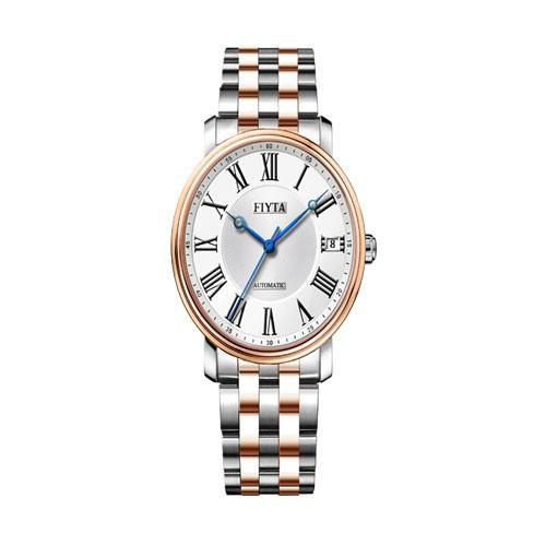 Fiyta Classic Lady Automatic SS Case Bracelet (LA8302.WWW)