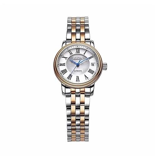 Fiyta Classic Lady Automatic Rose Gold SS Bracelet (LA8306.MWM)