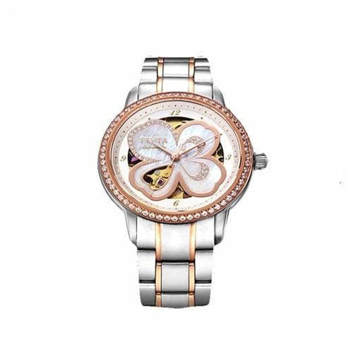 Fiyta Photographer Lady Automatic Rose Gold Ss Gold Bracelet (LA8362.TWTD)