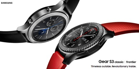 Samsung Gear S3 Frontier - Dark Grey