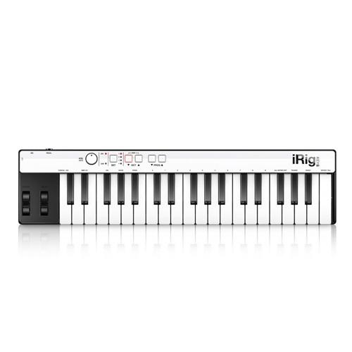 iRig Keys with Lightning Mini Keyboard Controller for iPhone/iPad/iPod Touch/Mac