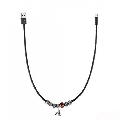 Remax Jewellery Lightning Data Cable Poison Series for iPhone  RC-058i - Orange