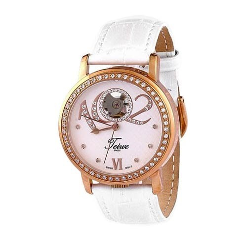 Teiwe Fazzione Rose Gold White Dial TW2058-G