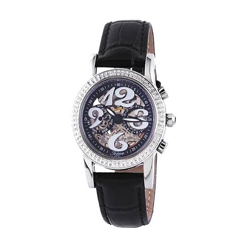 Teiwe Diamond of Angel TW2973-B - Black Dial
