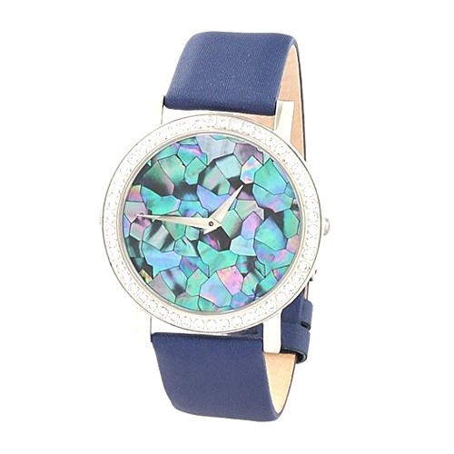 Teiwe Mosaic Big Stainless Steel TW3066-MS - Blue Leather