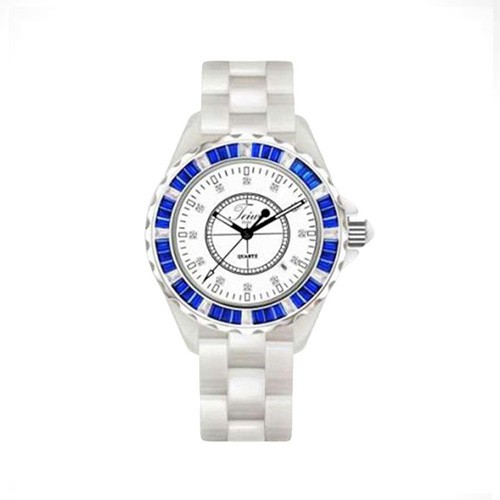 Teiwe All New Ceramic Small TW5003DS-W05L - White Combination Blue