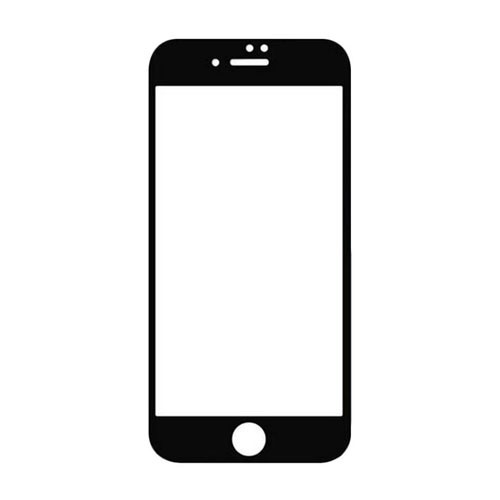 Capdase 3HG IH CL Tempered Glass Screen Protector for iPhone 7 - Black