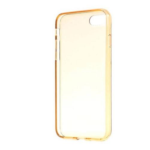 Capdase Soft Jacket Casing for iPhone 7 SJIH7-VE0C - Clear Gold + Free Gripper
