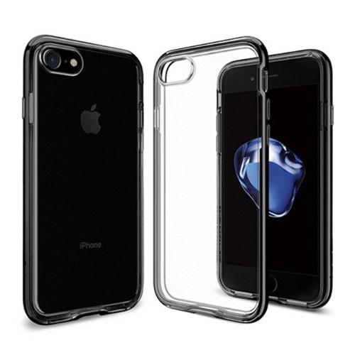 Capdase Soft Jacket iPhone 7 Titanium SJIH7-VE0T - Grey + Gripper