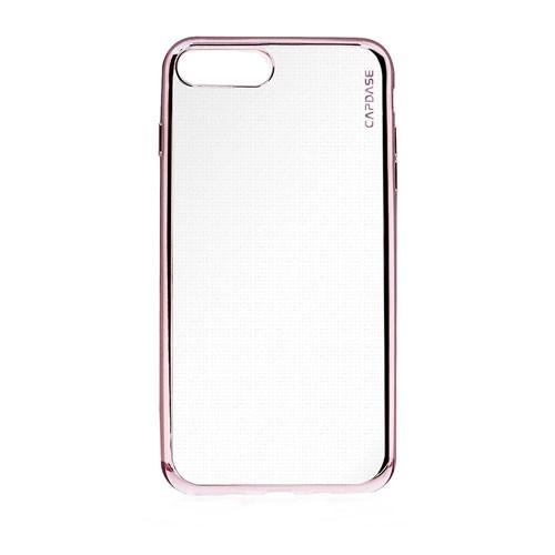 Capdase Soft Jacket iPhone 7 Plus SJIH7P-VE04 - Clear Rose + Gripper