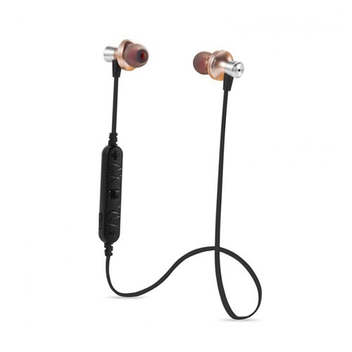 Awei Sport Bluetooth Earphones with Mic A860BL - Gold