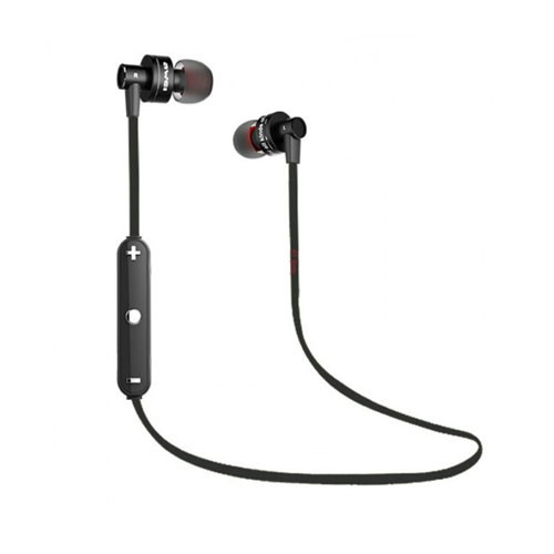 Awei Bluetooth Waterproof Sport In-Ear Headphone with Mic A990BL - Black
