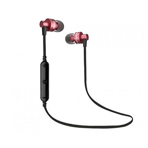 Awei Bluetooth Waterproof Sport In-Ear Headphone with Mic A990BL - Red