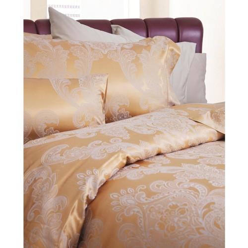 King koil Full Set Mezzeron Sprei dan Bed Cover (200x200x40) - Gold