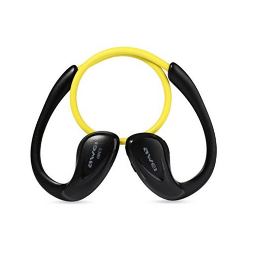 Awei Bluetooth Sports Headphones Stereo with NFC A880BL - Yellow