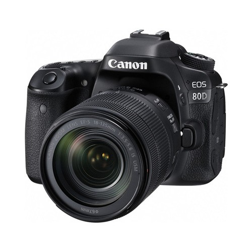 Canon EOS 80D Wifi DSLR Camera with Lens 18-135mm Nano USM