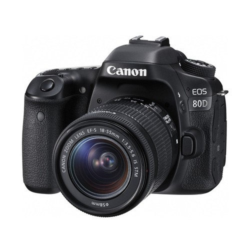 Canon EOS 80D Wifi DSLR Camera  with lens 18-55mm STM