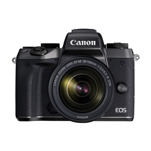 Canon EOS M5 Mirrorless Digital Camera with 18-150mm Lens - Black