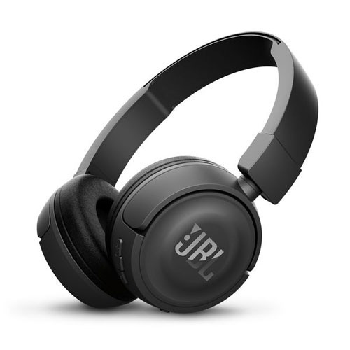 JBL Wireless On-ear headphones T450BT - Black
