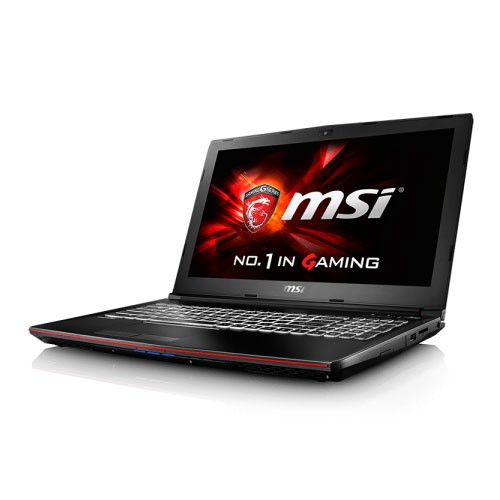 MSI Gaming Laptop GP62 7RD with GTX 1050 - Black