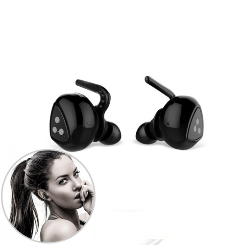 Syllable D900 Smallest Sports Earphone Bluetooth Noise Cancelling with Charging Station