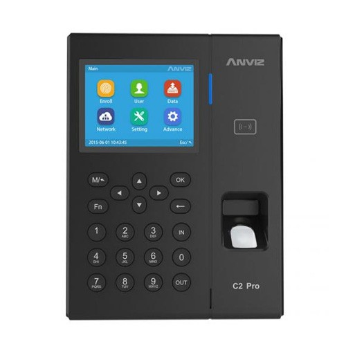 Anviz C2Pro Professional Fingerprint & Card Terminal - Black