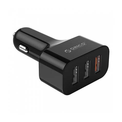 Orico 3-Port Car Charger with Quick Charge 3.0 UCH-Q3 - Black