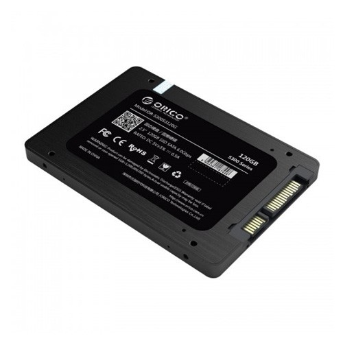 Orico 2.5 inch Internal SSD 120GB S300 - Black