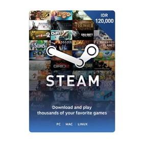 Steam Voucher Idr 120.000
