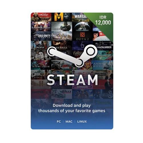 Steam Voucher Idr 12.000