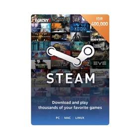 Steam Voucher Idr 400.000