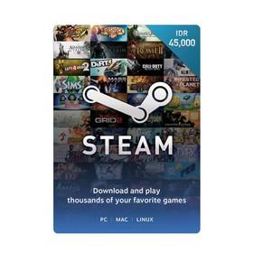 Steam Voucher Idr 45.000
