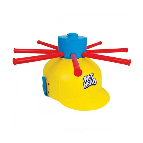 Wet Head Helmet Running Man Game Toys Prank