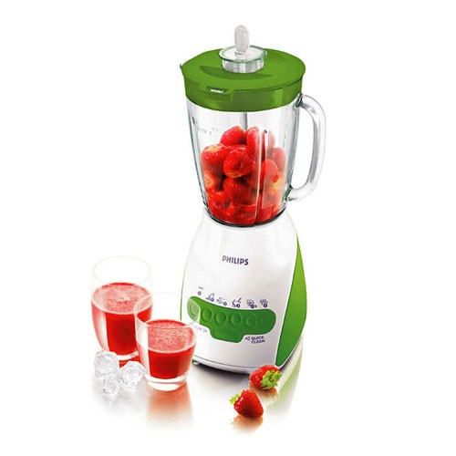 Philips Blender 2L Plastic HR2115/40 - Green