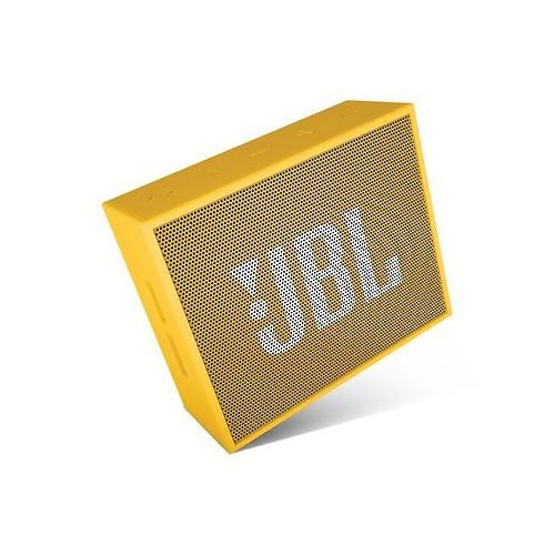 JBL Go Portable Bluetooth Speakers - Yellow
