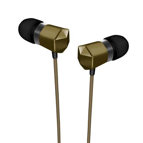 SonicGear SparkPlug Graphite in-Ear Headphone - Metal