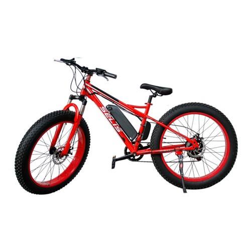 Selis Sepeda listrik type Fat Tire - Merah