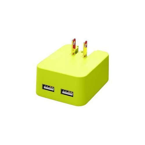 TYLT Wall 4.8A Travel Charger - Green