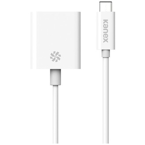 HOLIDAY SALE - KANEX USB-C to VGA Adapter - White