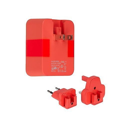 TYLT Wall 4.8A Travel Charger - Red
