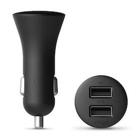 Elago Car Charger 2 USB 3.1 Amp - Black