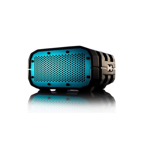 BRAVEN BRV-1 Portable Wireless Speaker -Gray White Relief Turquoise Blue