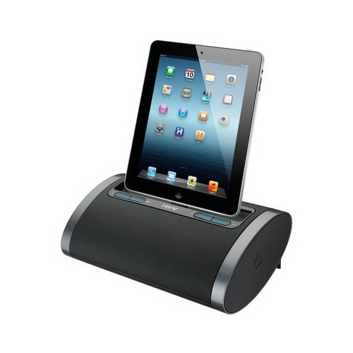iHOME iDL48 Dual Charging Portable Speaker with Lightning Dock - Black