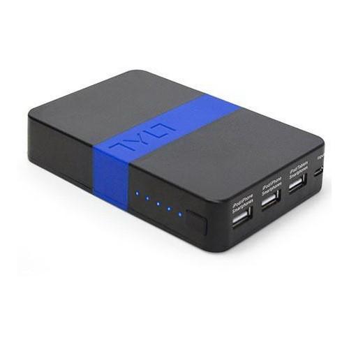 Tylt Powerbank Energi 10K Portable Power Pack - Black Blue