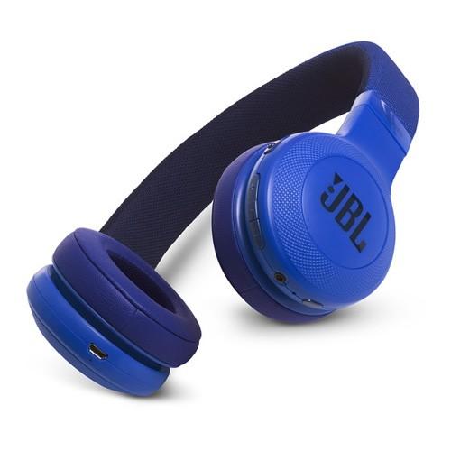 JBL Wireless On-Ear Headphones E45BT - Blue