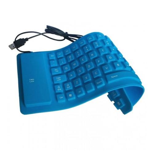 Keyboard flexible - Blue