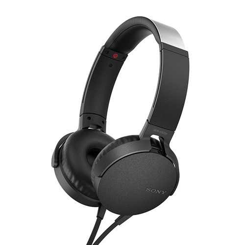 Sony Extra Bass Headphones MDR-XB550AP - Black