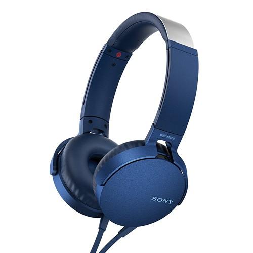 Sony Extra Bass Headphones MDR-XB550AP - Blue