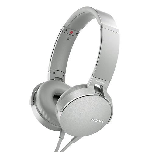 Sony Extra Bass Headphones MDR-XB550AP - White