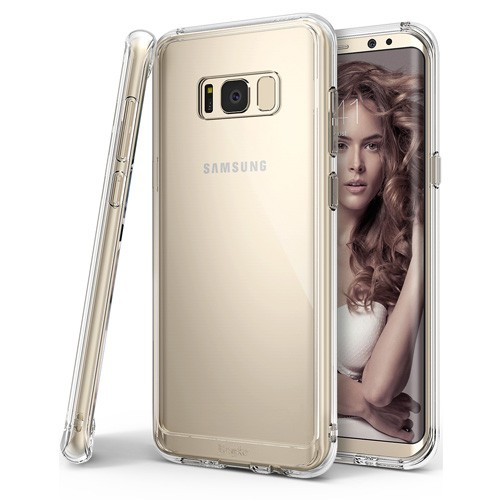 Rearth Fusion Case for Samsung Galaxy S8 Plus - Clear